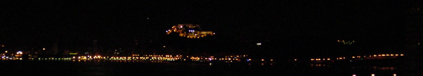 Bild: Alicante bei Nacht