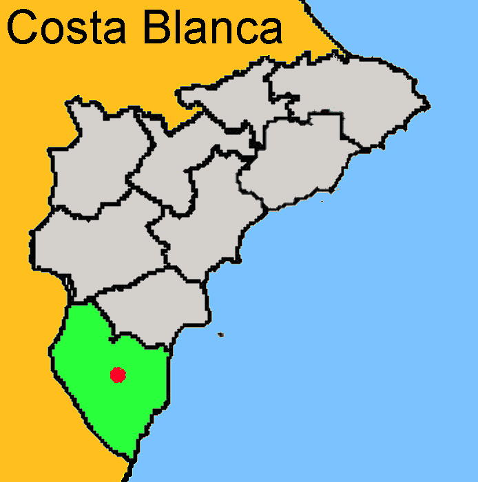 Karte: Almoradi