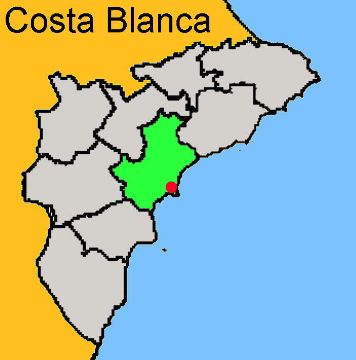Karte: El Campello