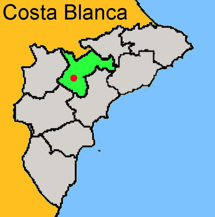 Karte: Castalla