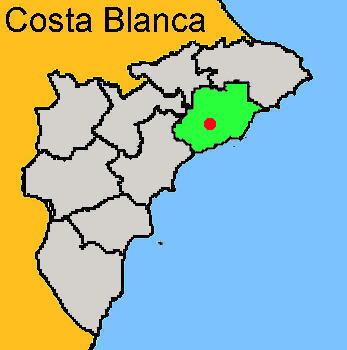 Karte: Finestrat