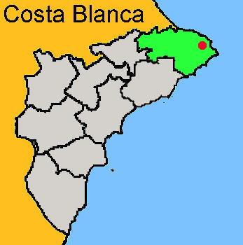 Karte: Jávea