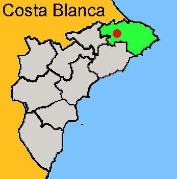 Karte: Val de Laguar