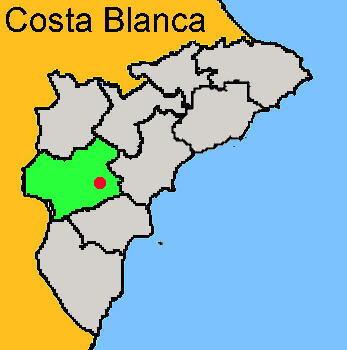 Karte: Monforte del Cid