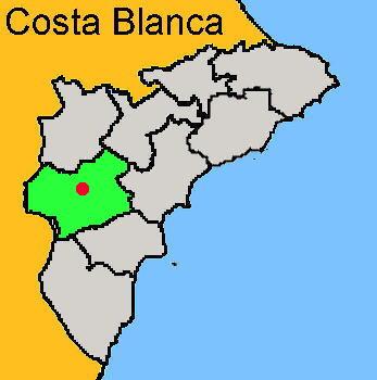 Karte: Monóvar