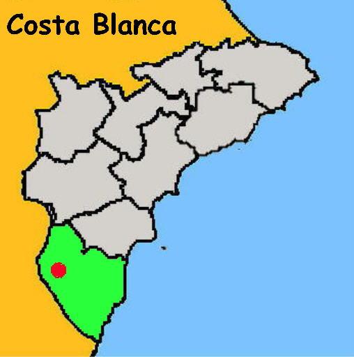 Karte: Orihuela