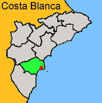 Karte: Santa Pola