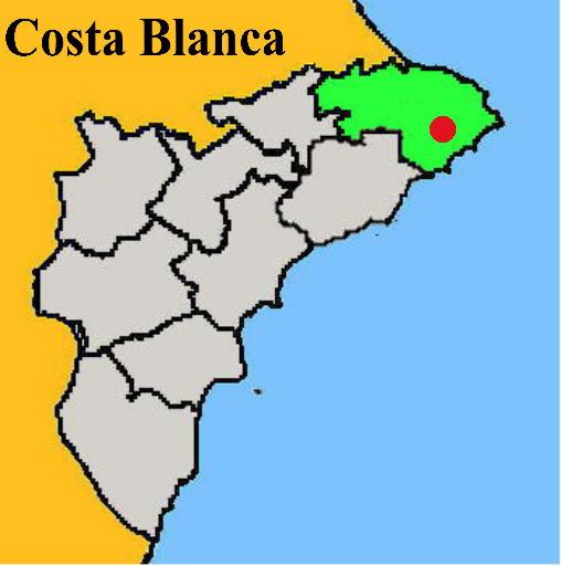 Karte: Teulada