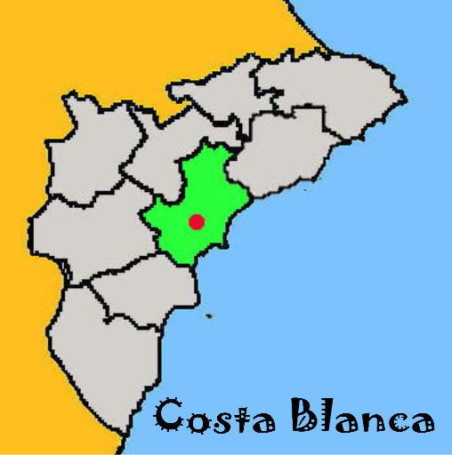Karte: San Vicente del Raspeig